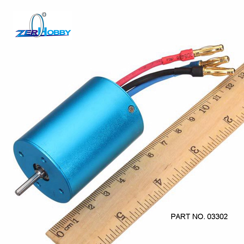 FREE SHIPPING 03302 3650 BRUSHLESS 540 Motor For 1 10 RC Cars Remote Control Car HSP HPI 2 3S Lipo in Parts Accessories from Toys Hobbies