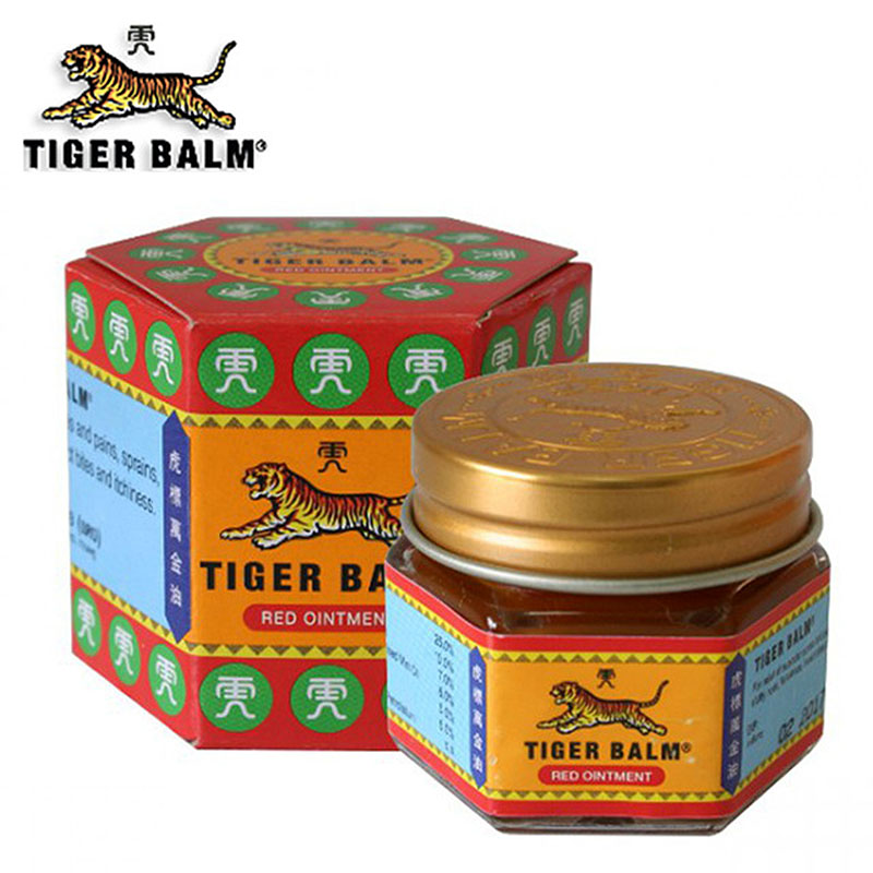 1pcs Red Tiger Balm Ointment Thailand Painkiller Ointment Muscle Pain Relief Ointment Mosquito Bites Soothe Itch