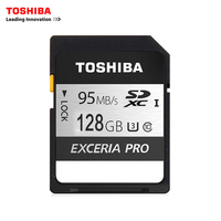 Toshiba Memory Card UHS U3 128GB 95MB S SDXC SD Cards 4K Card SDXC Flash Memory