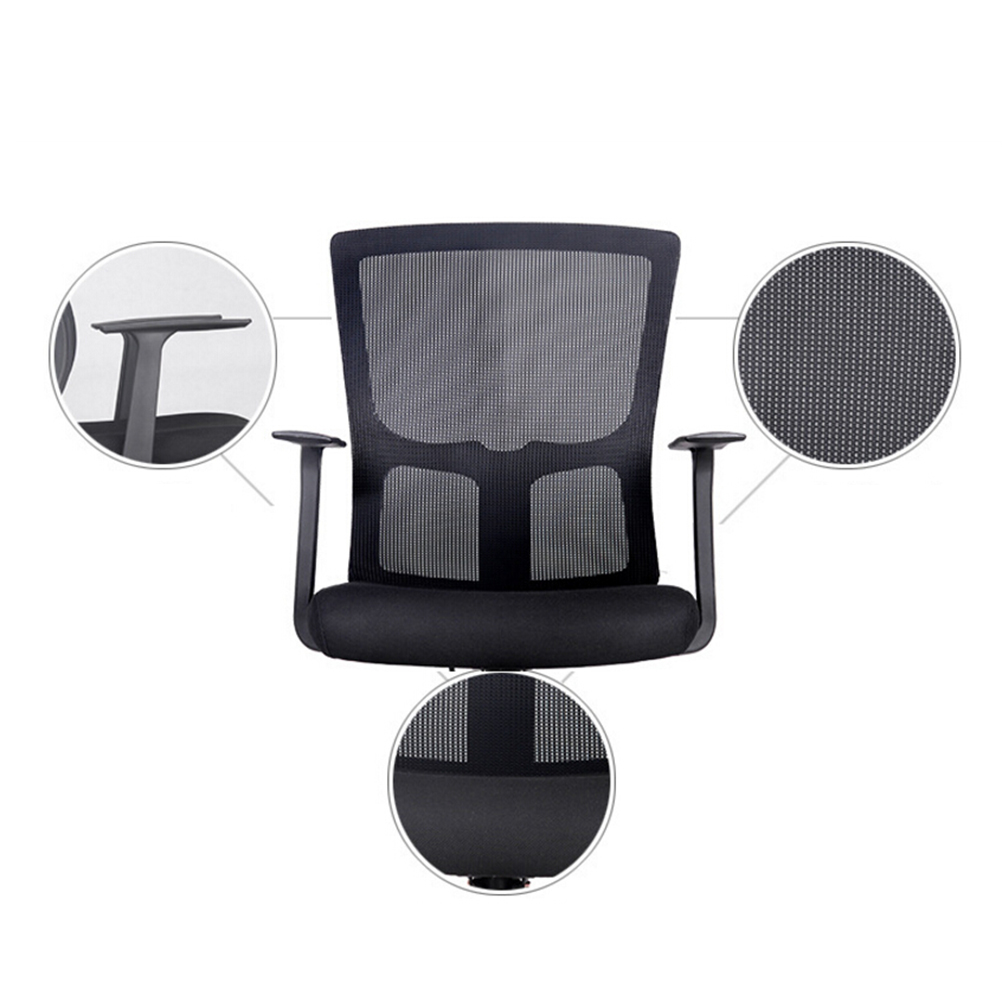 revolving chair for doctor white plastic chairs walmart swivel mesh cloth bow office staff rotary designer teacher clerk student in from furniture on