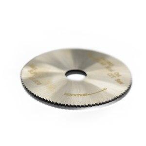 Image 4 - XCAN 1pc 50x9.5x0.5mm 100T HSS Circular Saw Blade Fit #42307 42805 Mini Cut Off Saw Power Tools Accessories Mini Cutting Disc