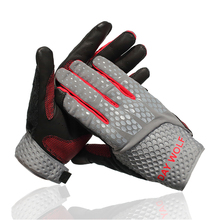 Day Wolf Non-slip long finger riding fitness gloves protective climbing sweat-absorbent breathable