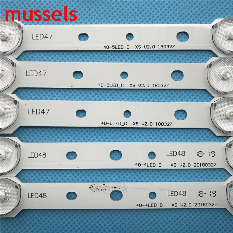 """Image 3 - LED backlight strip For Samsung 40"""" TV 4/5lamp SVS400A73 40D1333B 40L1333B 40PFL3208T LTA400HM23 SVS400A79 40PFL3108T/60 New-in Industrial Computer & Accessories from Computer & Office"""