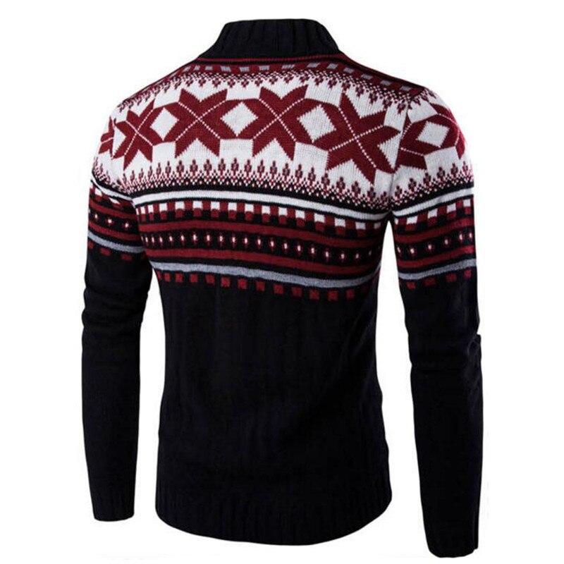 Moruancle moda Suéteres casual Navidad hombre invierno Navidad nueva A6zqrFAwv