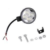1 Sets 12W Round 4 LED Car Light Waterproof Spotlight Floodlight 30 60 Degrees Work Light