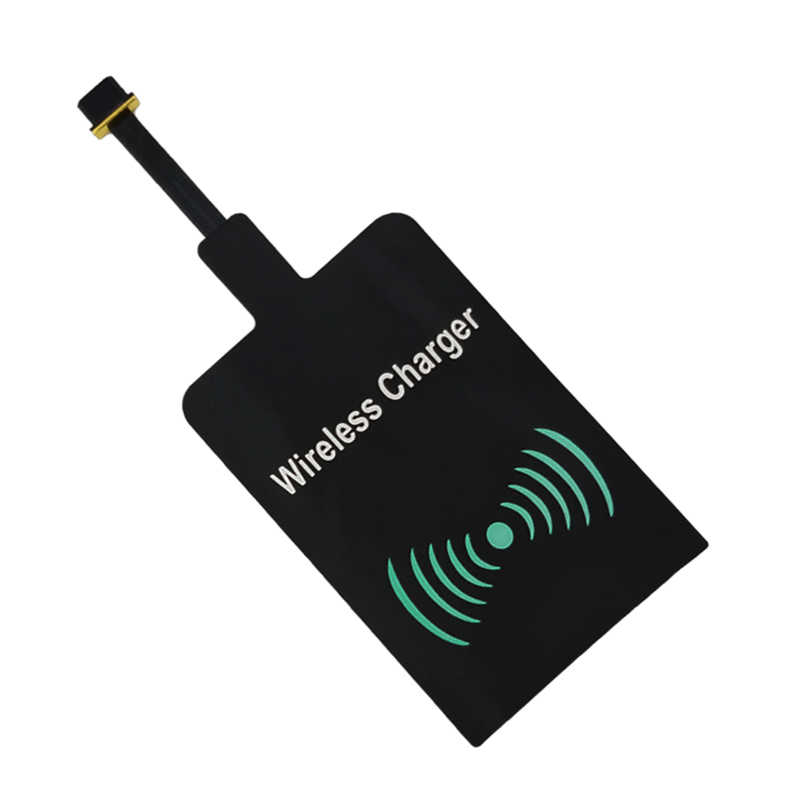 Universal Qi Receiver for Samsung Galaxy S5 J7 J3 J5 A3 Wireless Charger Receiver Adapter for Android Phone Charging Coil