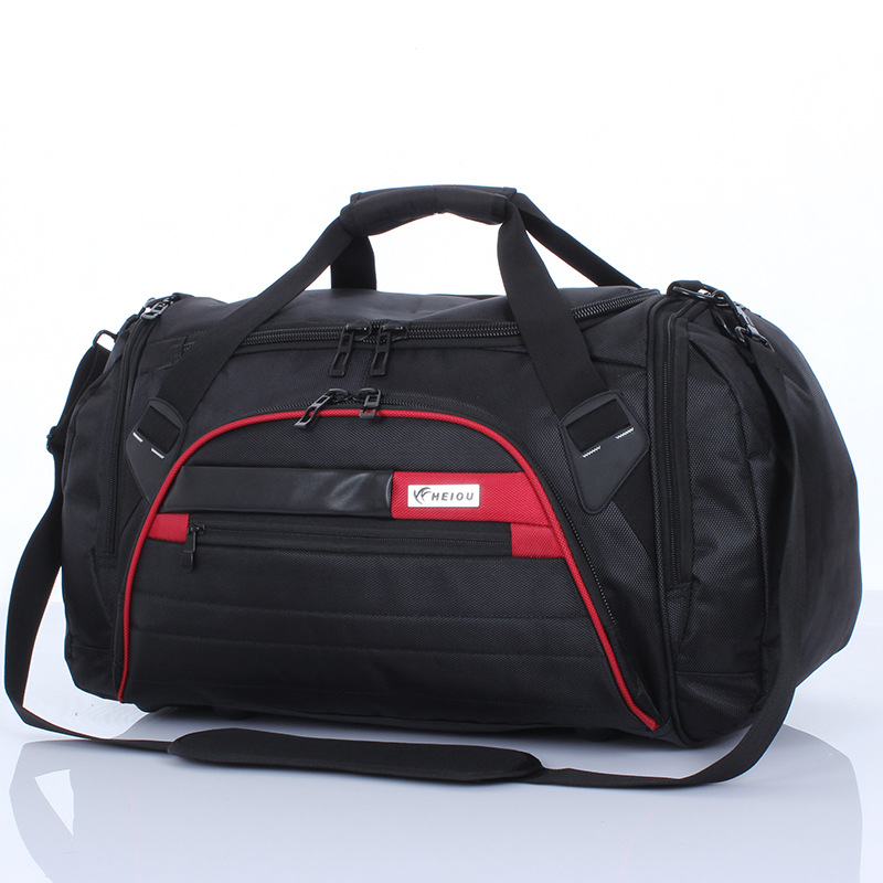 c3f31bf6983d Large capacity waterproof Oxford shoulder bag luggage for men and women  travel bag sports bag gym