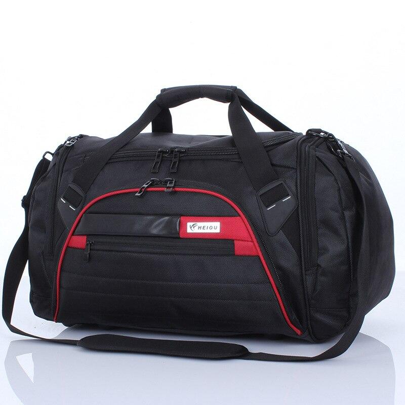 Sac à bandoulière Oxford étanche de grande capacité pour hommes et femmes sac de voyage sac de sport sac de sport-in Voyage Sacs from Baggages et sacs    1