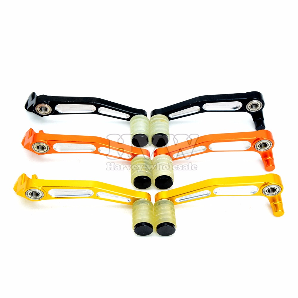 Motorcycle accessories CNC brake lever shif  Gear Shifter for ktm duke200 duke390 990 superduke duke 200 390 ktm200 ktm390 CF400 motorcycle cnc balance bar for ktm 125 duke 200 duke 390 handle rebar handlebar modification parts accessories balance bar