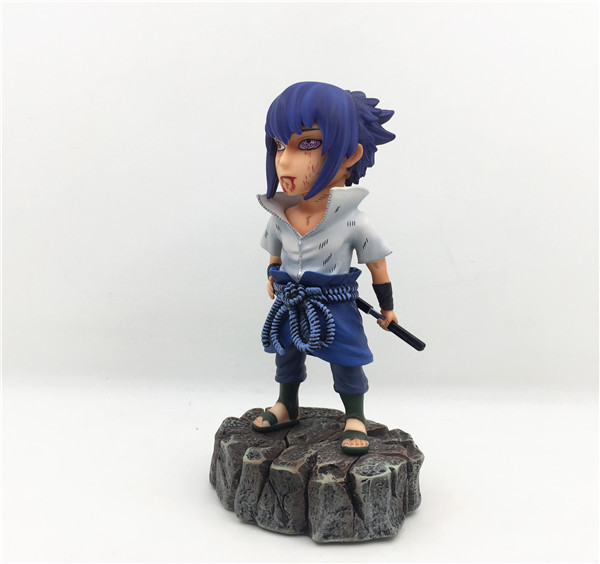 Anime Naruto Shippuden Uchiha Sasuke Sharingan Ver Action Figure Collectible Model Toys