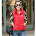 2016 Women Winter Autumn Vest New Fashion Designer Sleveless Jacket veste femme Warm Women Waistcoat colete feminino de inverno