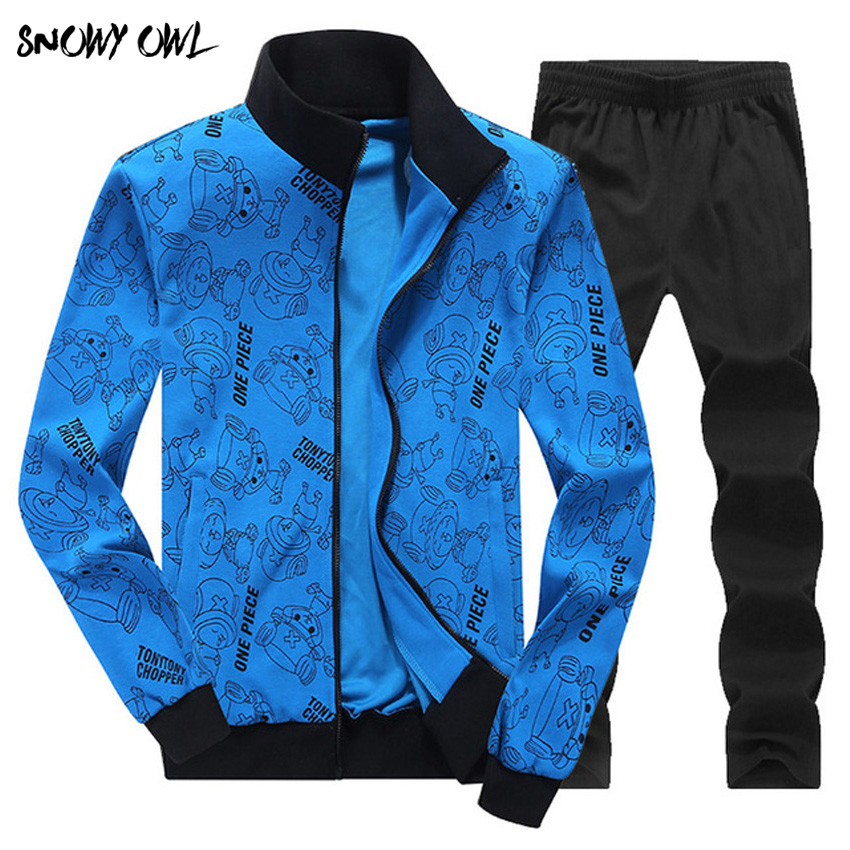2018 Men's Brand Tracksuits Set Jacket+Pants Sporting Suit Plus Size 4XL 5XL 6XL 7XL 8XL Fitness Clothing 119-129zr сорочка и стринги orangina 5xl 6xl