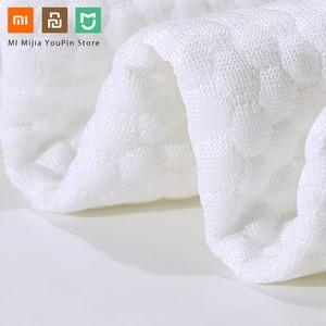 Image 4 - Originele Xiaomi 8H Tri Gebogen Cool Gevoel Trage Rebound Geheugen Katoen Kussens H1 Super Zachte Antibacteriële Hals Ondersteuning kussens