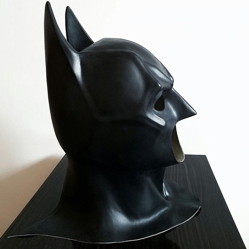 Image 5 - Batman Masks Full Head Batman Vs Superman Mask Dark Knight Latex Mask Cosplay Batman Mask Halloween Partyparty party partyparty batmanparty halloween -