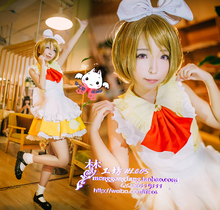 LoveLive! Koizumi Hanayo Cosplay Fancy Dress Maid Dresses Halloween Adult Costumes for Women Cosplay Costume Custom Any Size nekopara cosplay chocolat maid costume any size