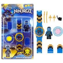 Ninjagoing Building Blocks Series Mini Watch Avengers Marvel Batman Iron Man SpiderMan figures Toy For Kids все цены