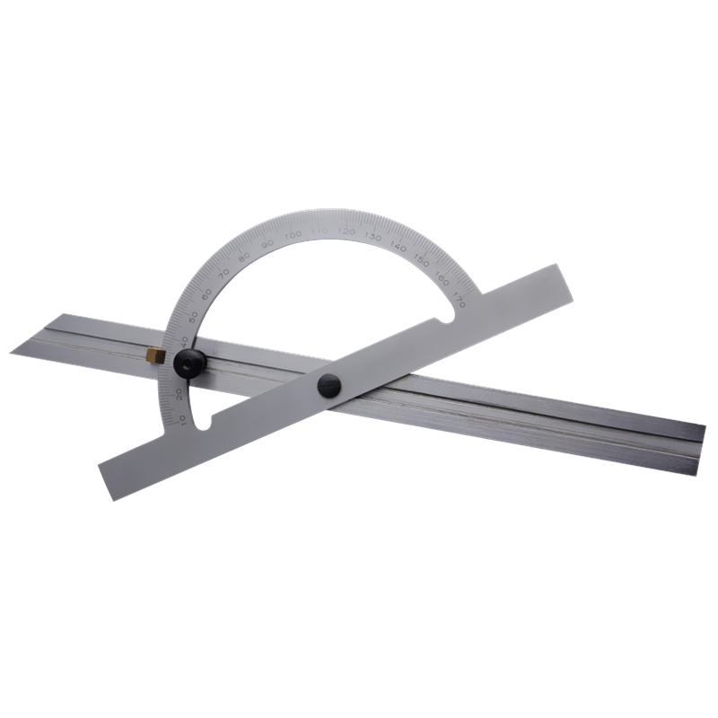 Adjustable Angle Protractor 150*300mm Stainless Steel 10-180 Degree Gauge Tools Caliper Measure