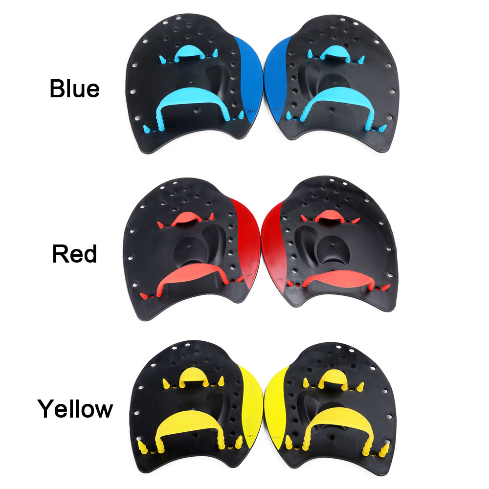 Professional Swimming Paddles Swimming Strokes Practice Correction Swimming Tools Adjustable Hand Webbed Gloves