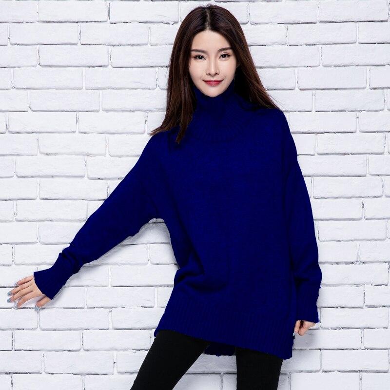2018 dámské zimní kašmírové svetry a roláky ženy Vysoce kvalitní teplá žena zesílení teplých svetrů