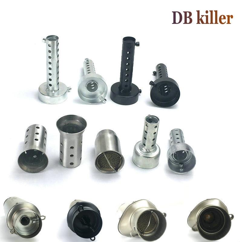 Motorcycle exhaust pipe silencer db killer Motorbike exhaust muffler silencer noise sound eliminator 51 mm 61 mm inner diameter
