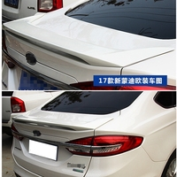 MONTFORD Car Styling For Ford Mondeo 2013 2014 2015 2016 2017 ABS Plastic Material Rear Wing Unpainted Primer Color Rear Spoiler