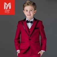 Custom Made body suit Formal Occasion Children Wedding Suits Blazers Boys Attire boys suits gentleman style Blazer suits boy