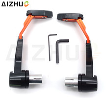 CNC Aluminum Motorcycle Handguard Brake Clutch Lever Guard Slider For KTM EXC 125 250 300 450 SX SXF RC390 200 390 DUKE