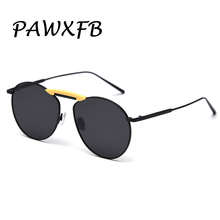 PAWXFB 2019 New Pilot Sunglasses Women men Brand Designer Sun Glasses Classic Eyewear Oculos de sol