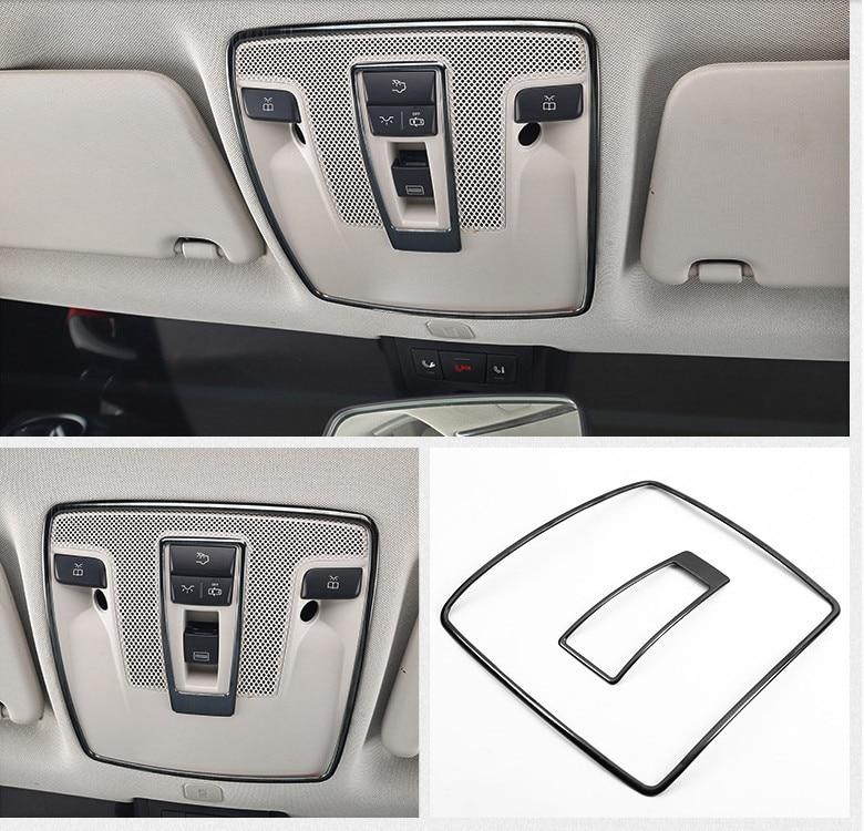Cadre de lampe de lecture de style de voiture garniture décoration bandes cadres de lampe de toit intérieur pour Mercedes Benz A B classe GLA X156 CLA C117