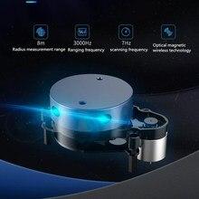 YDLIDAR X2L 8 м радиус диапазон измерения 3000 Гц диапазон частот 7 Гц Частота сканирования оптическая магнитная технология