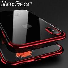 Para o iphone X Caso Capa de Silicone Original Para o iphone X 10 Silm Luxo Soft Shell Telefone Proteção Para iphoneX