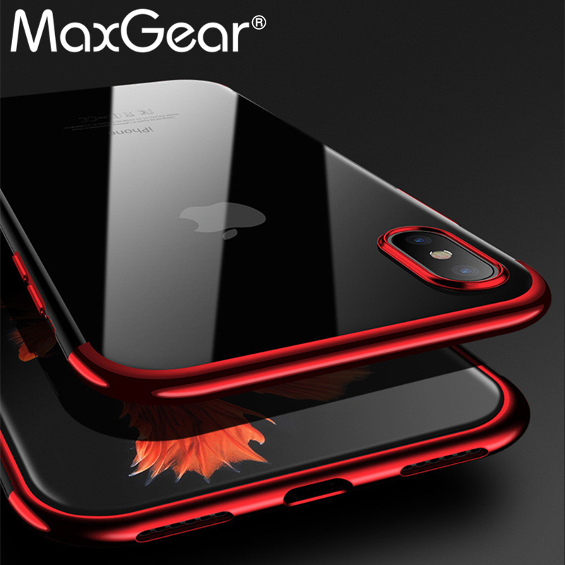 For iPhone XS MAX XR Case Silicone Cover Original For iphone X 6 6S 7 8 Plus Luxury Silm Protection Phone Soft Shell For iphoneX
