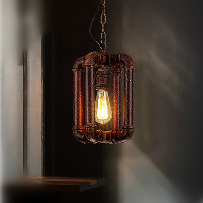 Metal Pipe Edison Loft Industrial Vintage Pendant Lights Retro Hanging Lamp For Bar Home Lighting Suspension Luminaire