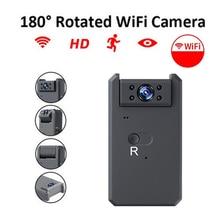 Mini WiFi Camera HD 1080P Video Audio Recorder Night Vision Motion Sensor Camcorder Nanny Rotated Security Micro Cam wifi micro camera hd 1080p night vision and motion sensor home security video mini camcorders portable wireless 2 4g wifi ip cam