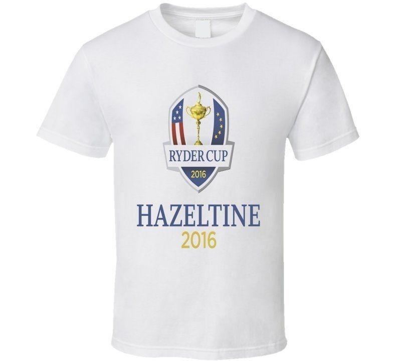 Ryder Cup Hazeltine 2016 Golfer Golfing Fathers Day Dad Son T shirt tshirt t-shirt Men Clothing Plus Size S M L Xl Xxl