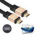 HDMI Кабель HDMI к HDMI кабель HDMI 2.0 4 К 3D Кабель для HD ЖК-ТЕЛЕВИЗОР Ноутбук PS3 Проектор Компьютерный Кабель 1 м 2 м 3 м 5 м