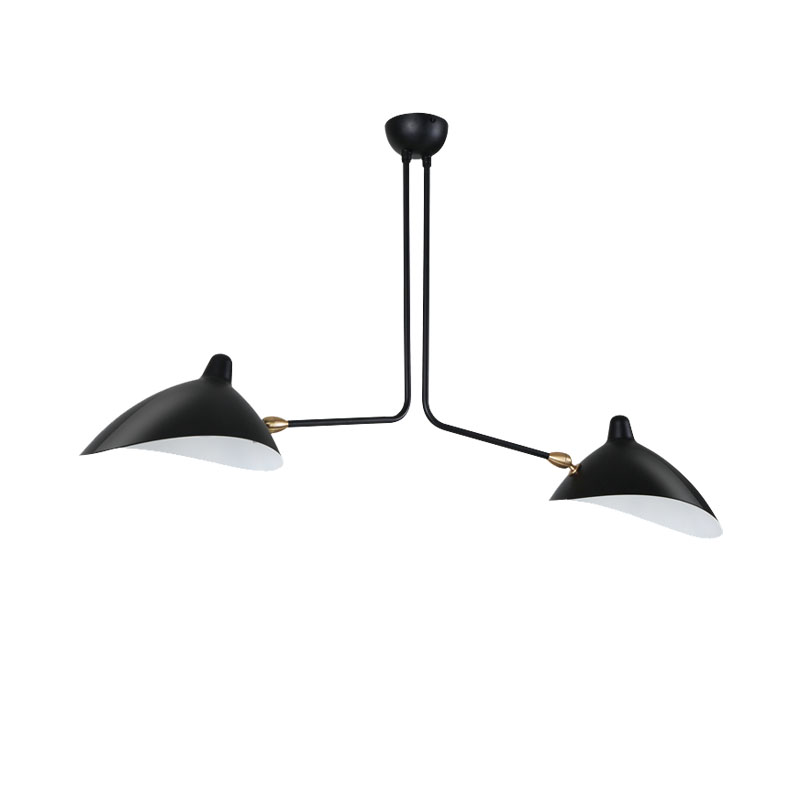 цена на Nordic Ceiling Lamp Designer's Ceiling Lighting Duckbill Replica Rotating Dining Room Lighting Lamps White/Black Plafonnier
