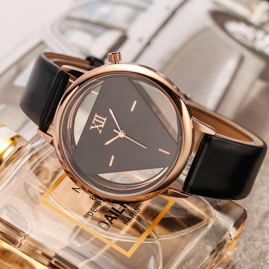 GEEKTHINK šuplje stil luksuzni brand kvarcni satovi žene dame - Ženske satove - Foto 3