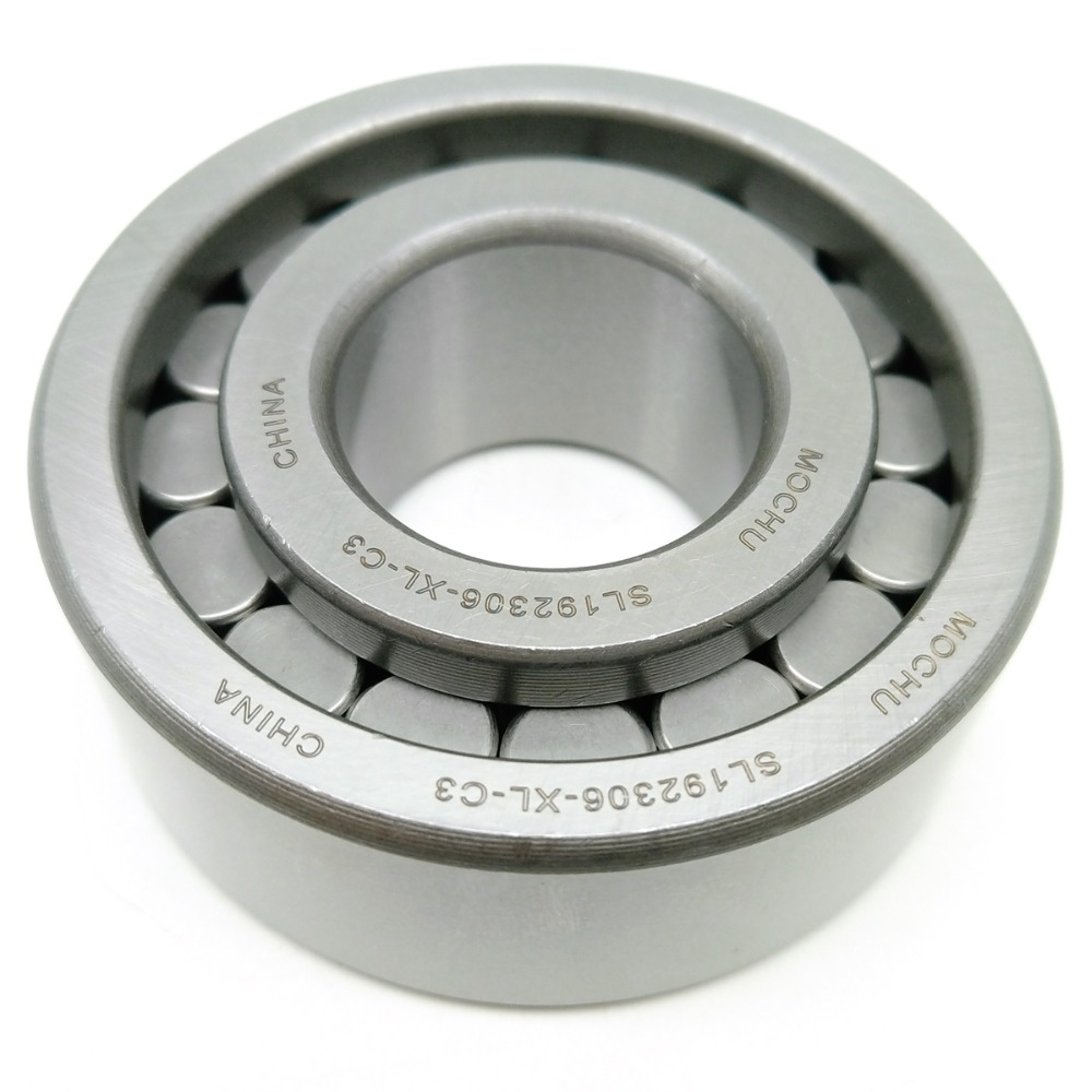 1pcs MOCHU SL192306-XL-C3 30x72x27 SL192306 NJG2306VH Full Complement Cylindrical Roller Bearings Single Row f2522 full complement needle roller bearings 942 25 the size of 25 32 22mm