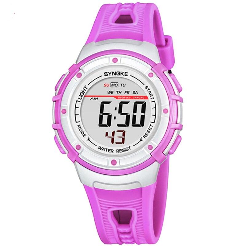SYNOKE Children Watches Digital Wrist Watch Multi Function Sports Waterproof Luminous Alarm Clock Kids Watch For Boys Girls Gift