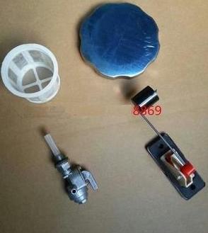 0aedcfd12d15a1 Livraison Gratuite 168F 170F GX160 GX200 5.5hp 6.5hp réservoir de carburant  cap filtre à carburant carburant mètre commutateur de carburant costume  pour ...