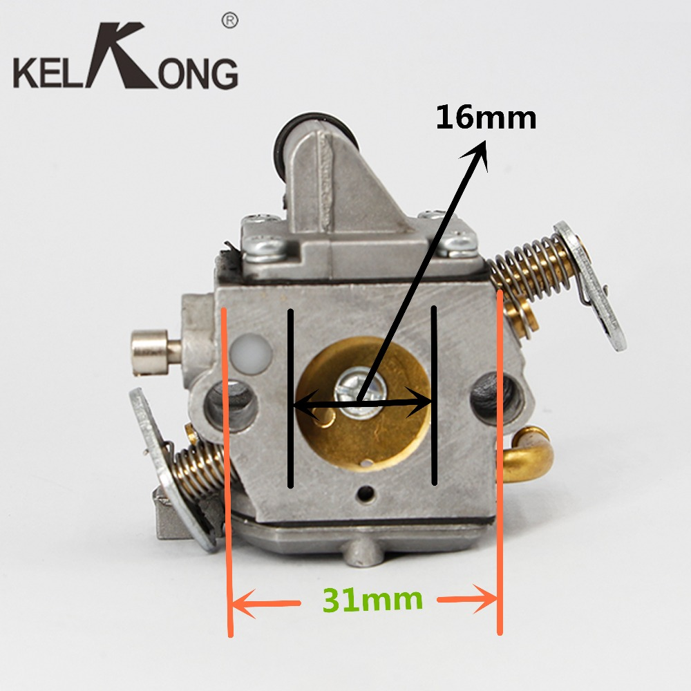 hight resolution of kelkong carburetor carb for zama 180 c1q s57b fit stihl chainsaw zama 017 018 ms170 ms180 parts chainsaws 11301200603 free ship