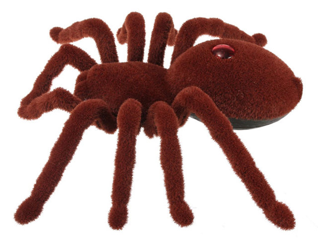 High Quality 2CH Infrared RC Realistic Spider Prank Remote Control Toy for Halloween Gift Decoration Party Stage Props