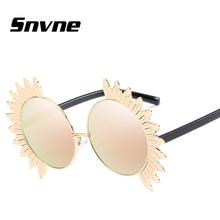 Snvne gafas de Sol 2017 nuevas gafas de sol de Lente Redondo Girasol para hombres mujeres diseño de Marca oculos gafas de sol hombre KK554