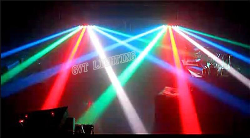 High brightness eight beam Scanner fan beam bar light beam laser RGBW scanner dj club disco light Eight Eyes LED Beam Lamp - 4