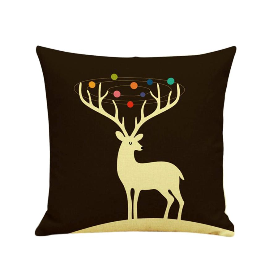 SP 28 Top Quality 2017 Hot Selling Christmas Cartoon Sofa Bed Home Decoration Festival Pillow Cushion Cove # 111
