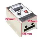 Umkehr schalter, 1HP gouverneur, 750 watt high power, 220 v DC motor speed controller, 500 watt permanent magnet DC motor controller