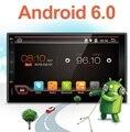Eletrônica do carro 2 din Carro Sem DVD Player GPS Android 6.0 Navi 7 polegada Vídeo Rádio Do Carro Universal Em Traço Estéreo Bluetooth Mapa Livre