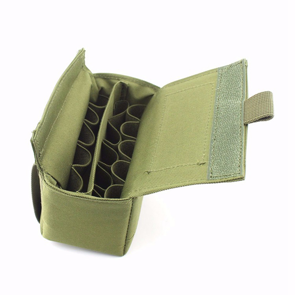 Tactical Molle Tactical Magazine Reload Shotshell Holder 15 rounds - Jacht - Foto 5