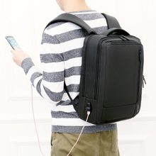 laptop Backpack Laptop USB Charging Backbag Travel Daypacks Male Bookbag vacancy Theft Mochila School